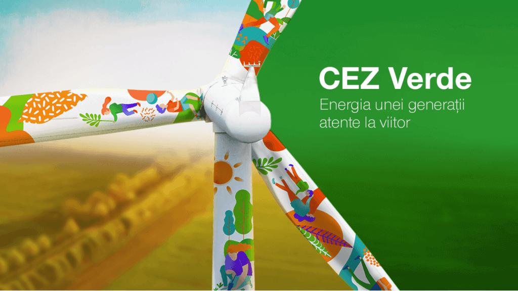 Produs de energie electrica al CEZ Vanzare