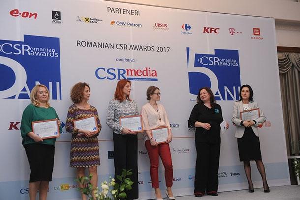 Premiul de suflet pentru voluntarii CEZ!