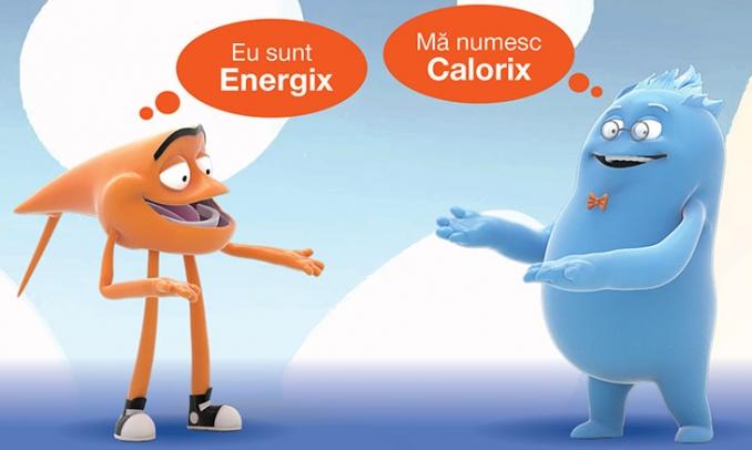 Faceti cunostinta cu Energix si Calorix, specialisti in energie si gaze naturale