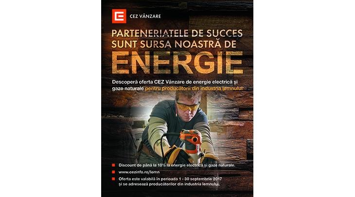 CEZ Vanzare lanseaza oferta dedicata antreprenorilor din industria lemnului